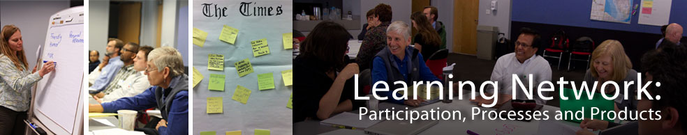 learning network banner